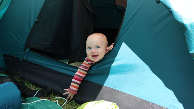 Beach Camping with Babies and Toddlers